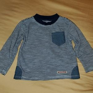 Hudson Long Sleeve Striped Shirt